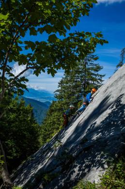 Klettern Vorderkaiserfeldenhütte Heimköpfel
