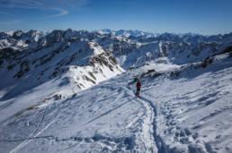 Roter Kogel Skitour