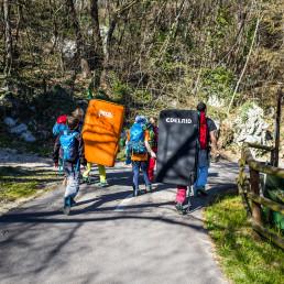 Bouldern in Passo San Giovanni