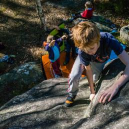 Bouldern Fontainebleau
