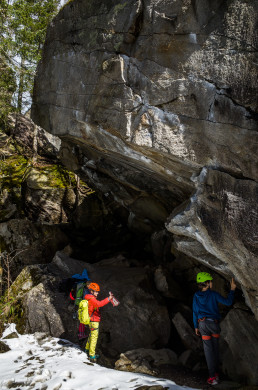 Klettern Zillertal Ewige Jagdgründe