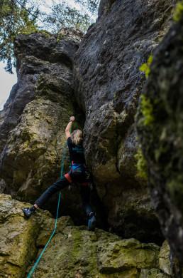 Klettern Intensivstation Frankenjura