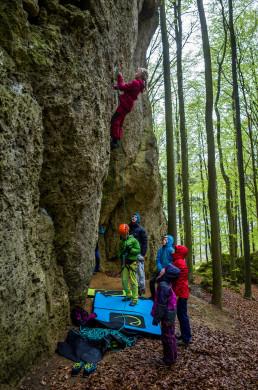 Klettern Elfenwelt Frankenjura