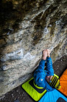 Bouldern Klagemauer Frankenjura