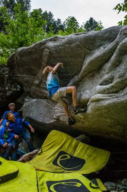 Bouldern Zillertal Zemmschlucht