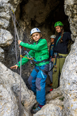 Klettern Altmühltal Konstein Aicha Fensterlwand Abseilen