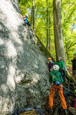 Klettern Altmühltal Konstein Aicha