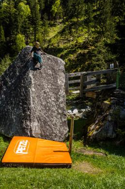 Bouldern Kaseler Alm Zillertal