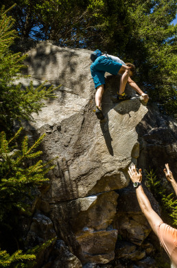 Bouldern Kaseler Alm Zillertal Jerry Moffat Edelweiß