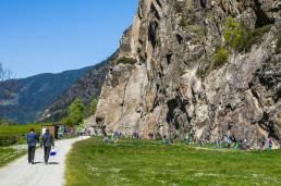 Klettern Ötztal Tumpen Engelswand
