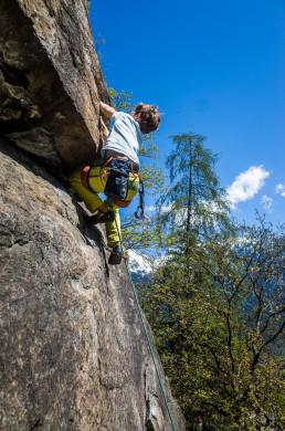 Klettern Ötztal Klettergarten Oetz