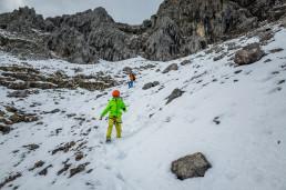 Alpinklettern Dammkar Karwendel Predigtstuhl Südwestpfeiler