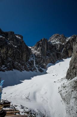 Lawine Alpinklettern Dammkar Karwendel Predigtstuhl Südwestpfeiler