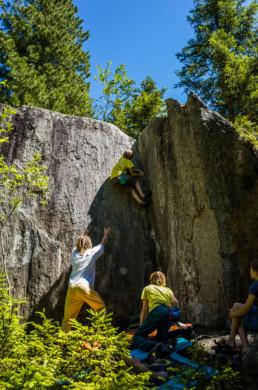 Bouldern im Sundergrund Soon Forgotten