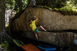 Bouldern im Sundergrund Gartenzwerg