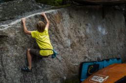 Bouldern im Sundergrund Wackelpudding
