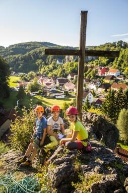 Klettern Wolfsberger Block Abendröte Oma Eichler