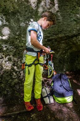 Klettern Schda Schdum Bärenfels Oma Eichler