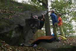 Bouldern in Petrohrad Orbit 6C+
