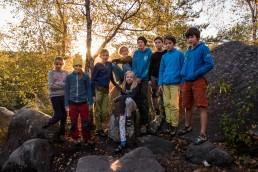 Kletterjugend Fontainebleau Apremont