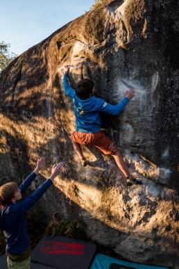Bouldern Apremont Fontainebleau