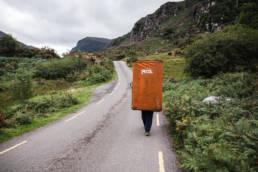 Irland Bouldern Gap of Dunloe