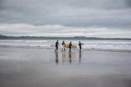 Irland Strandhill Surfen