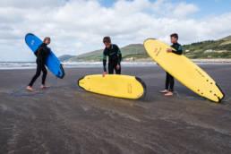 IrIrland Surfen Inch Beach