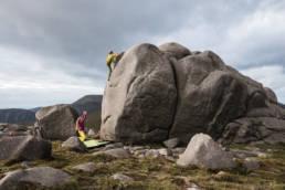 Irland Bouldern Mourne Mountains