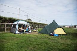 Irland Camping