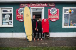 Irland Rossnowlagh Surfen