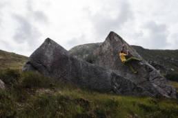 Irland Bouldern Polldoo Glen
