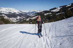 Skitour Oberlandhütte Schwarzkogel