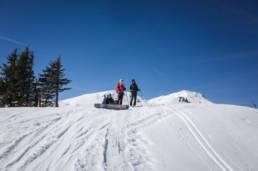 Skitour Oberlandhütte Durachel Kogel