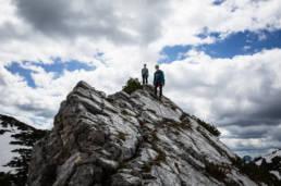 Alpinklettern Ruchenköpfe Westgrat