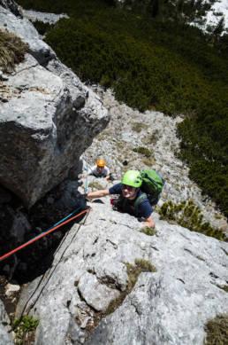 Alpinklettern Ruchenköpfe Neue Südwand