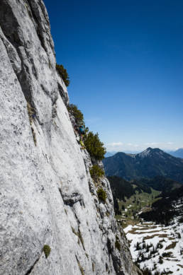 Alpinklettern Ruchenköpfe Dülferriss