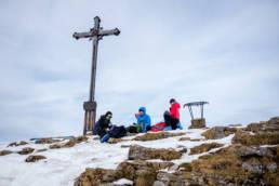Skitouren Albert-Link-Hütte