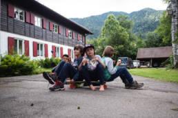 Hütte Hammer Kopfstandtour